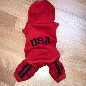 Other - dog outfit size medium NWOT says USA